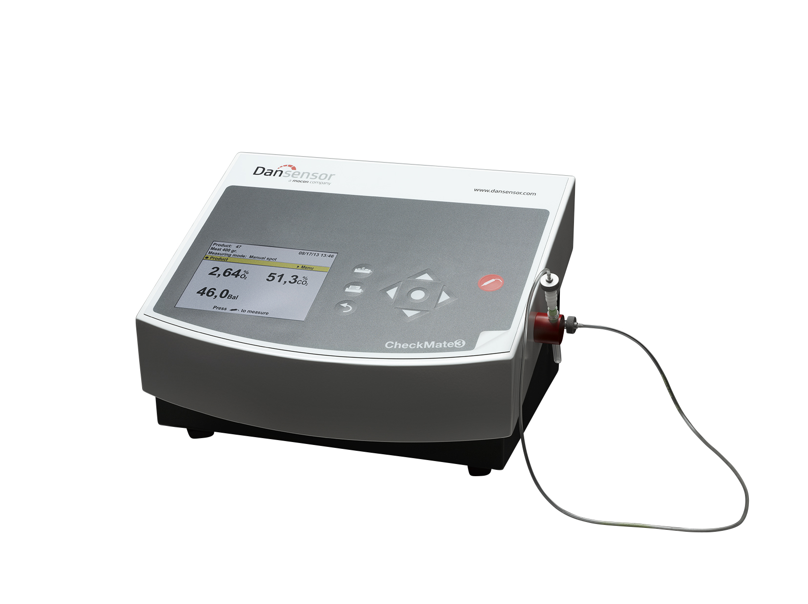 CheckMate 3 – Oxygen Analyser & Carbon Dioxide (CO2) Analyser Meter