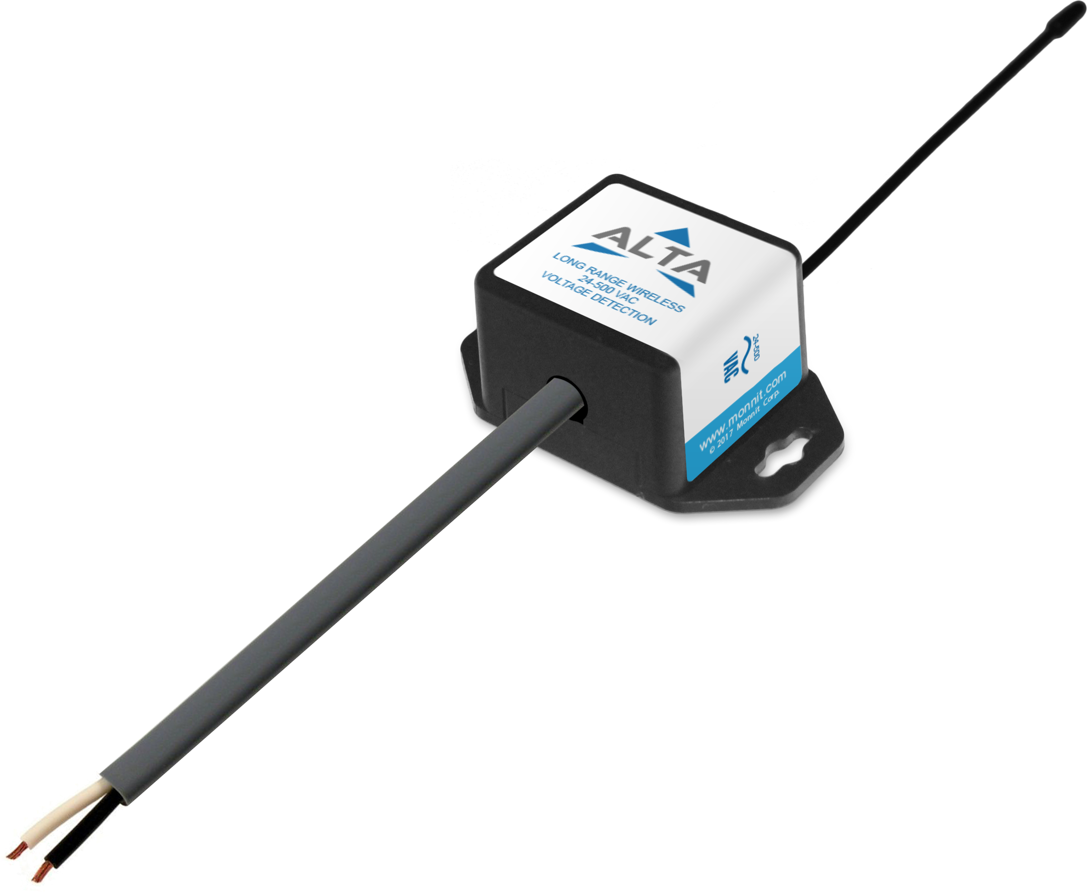 Wireless AC Voltage Detection Sensors (4-500 VAC)